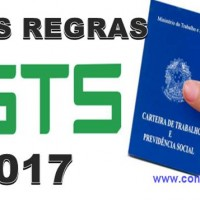 novas regras FGTS 2017